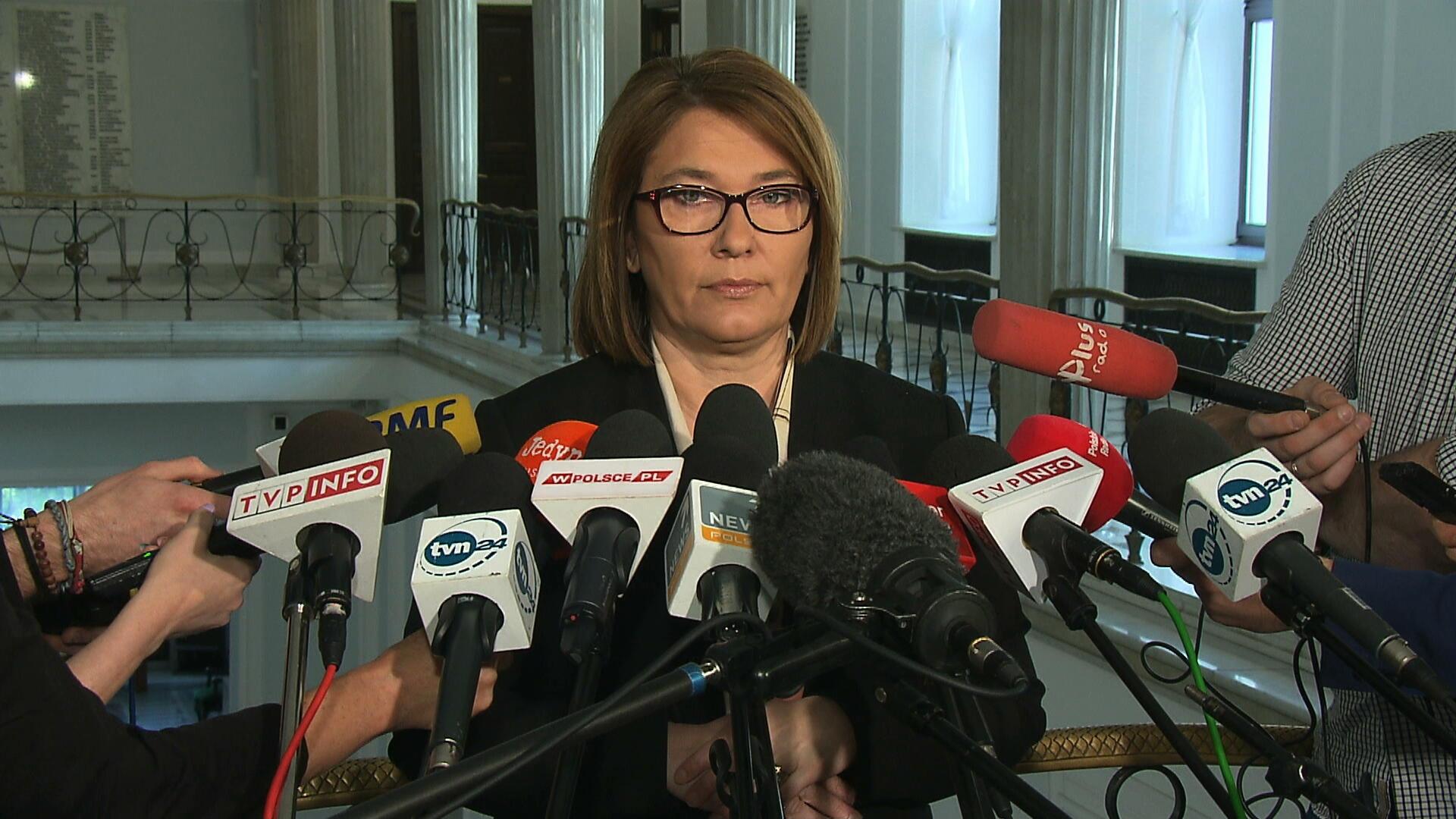 Rzeczniczka PiS: nie docierają do nas sygnały, że członkowie partii są niezadowoleni