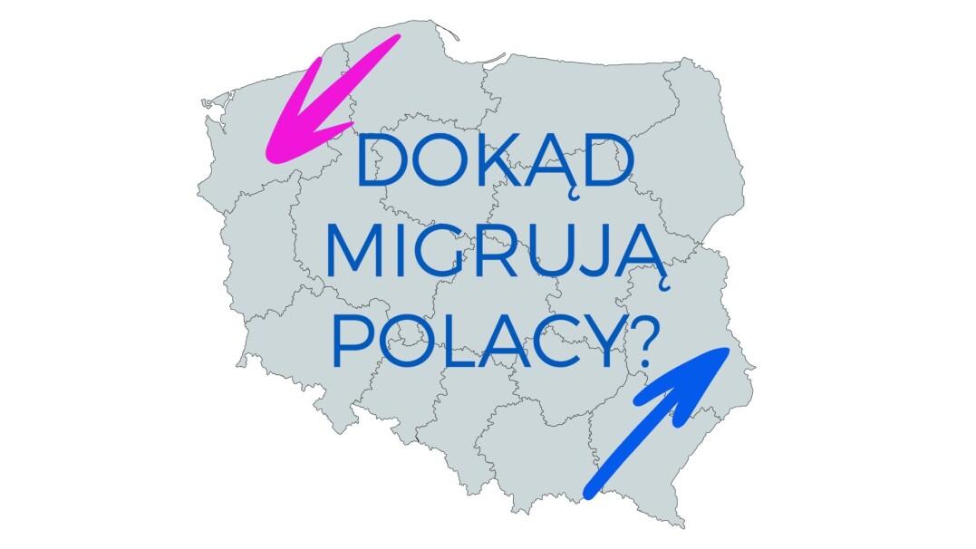 Do jakich miast migrują Polacy?