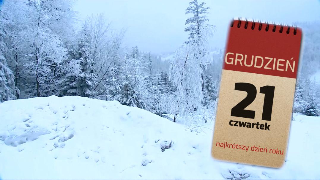 Dzisiaj najkrótszy dzień w roku. Od 21 grudnia dzień staje się coraz dłuższy!