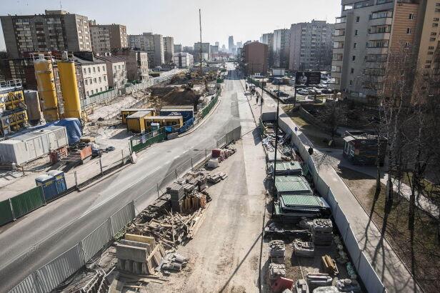 Górczewska będzie zwężona Metro Warszawskie