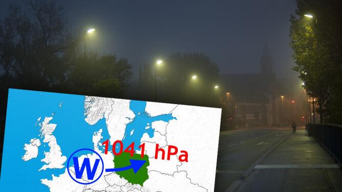 Superwyż kształtuje pogodę w Polsce. Nocą pokaże swoją gorszą stronę