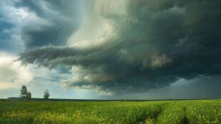Pogoda na jutro: front pozostanie nad Polską. Groźne burze w części kraju