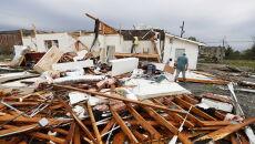 Seria tornad na południu Stanów Zjednoczonych (PAP/EPA/ERIK S. LESSER)