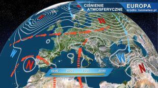 Wyż Ekart kształtuje pogodę w kraju