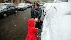 Przez pogodę zamknięto szkoły (PAP/EPA/ABEDIN TAHERKENAREH)
