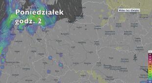 Opady deszczu w ciągu kolejnych pięciu dni (Ventusky.com | wideo bez dźwięku)