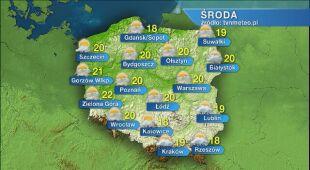 Pogoda na środę 27.05