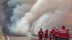 Pożar na Gran Canarii (Reuters)