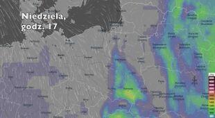 Potencjalny rozwój burz w kolejnych dniach (Ventusky.com | wideo bez dźwięku)