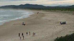 Nastolatek zmarł po ataku rekina w Australii